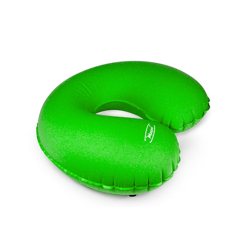 Maxped充气U型枕 车用旅行护颈枕 U型充气午睡枕 自驾旅游枕 绿色