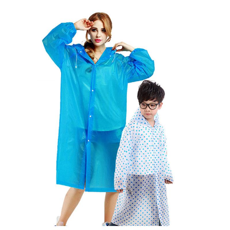 户外徒步登山旅游成人儿童雨衣