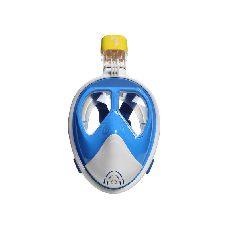 THENICE浮潜三宝浮潜全面罩成人儿童潜水镜全干防雾可配近视