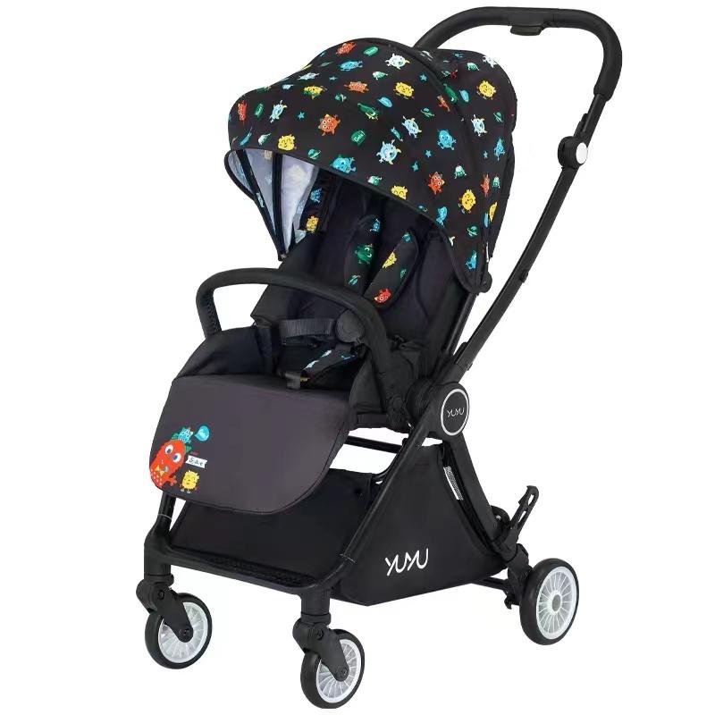 悠悠YUYU小宇宙双向轻便折叠可坐可躺婴儿车童车