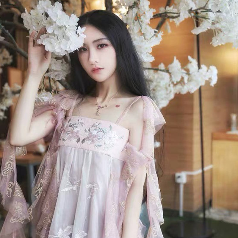 【租赁】游园惊梦汉服 汉元素 梦游花宴 连衣裙 仙女度假长裙