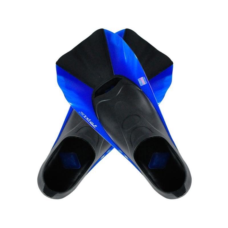 TOPIS潜水脚蹼 全包脚式短脚蹼 浮潜蛙鞋 潜水装备SF-88 深海蓝