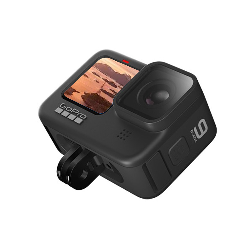 GoPro HERO 9 BlACK 云台级防抖5k运动相机 Vlog摄像机